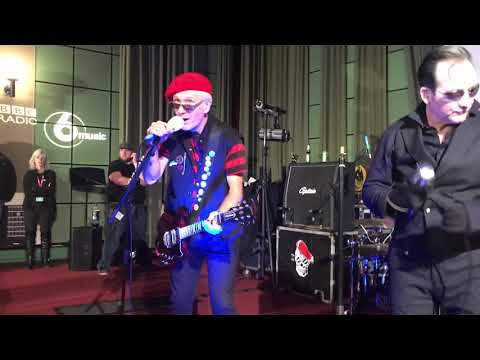 The Damned - at the BBC Radio 6 Christmas...