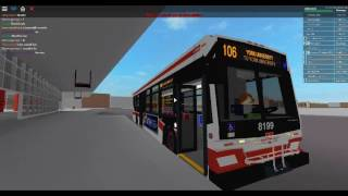 TTC ROBLOX Bus #8199 ab Wilson