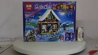 конструктор Lepin Snow Resort Chalet 01040