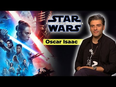 Star Wars Rise Of Skywalker Interview Oscar Isaac On Poe Dameron S Potential Romance With Finn Youtube