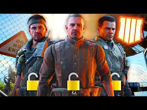 Black Ops 4: How to Unlock the NEW ULTRA RARE Blackout Icon Skins (Mason, Woods, Reznov, Menendez)