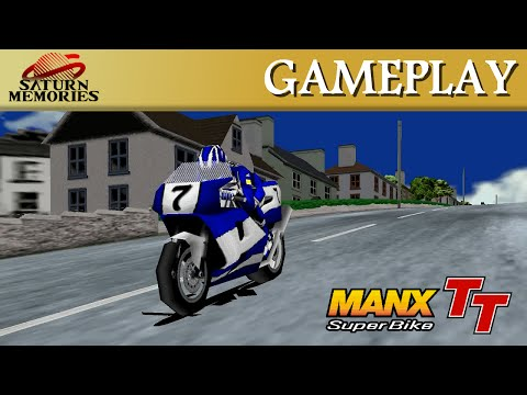 Manx TT Superbike [Model 2] [Arcade] by SEGA  Laxey Coast (2'09'71) [HD] [1080p]