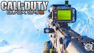 Black Ops 3: Sniping Gameplay! NEW 3 ROUND BURST SNIPER - P-06 Sniper Rifle(BO3 Multiplayer Footage)