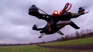 drone walkera runner 250 racing speed quadrocopter gopro hero 4 black
