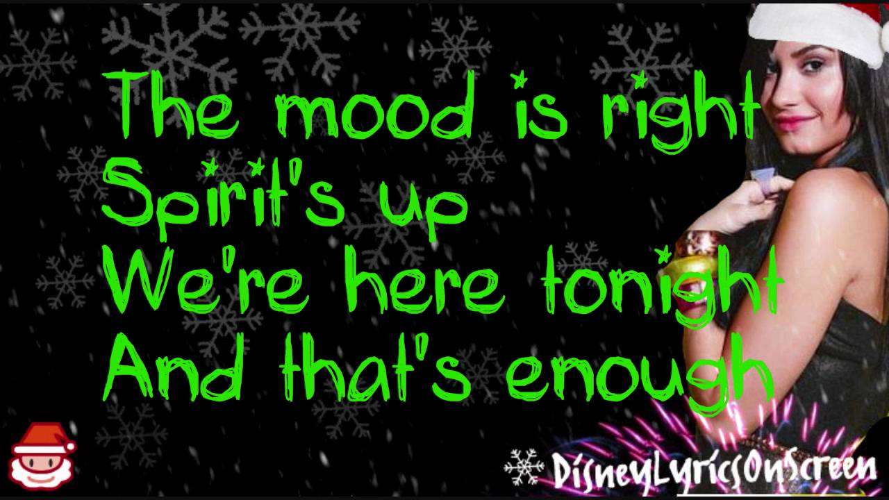Demi Lovato - Wonderful Christmas Time (Lyrics On Screen) - HD ...