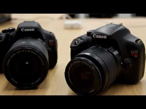 Canon Rebel T3 (1100D) and T3i (600D) First Look