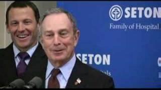 Mayor Michael Bloomberg in Austin, Texas