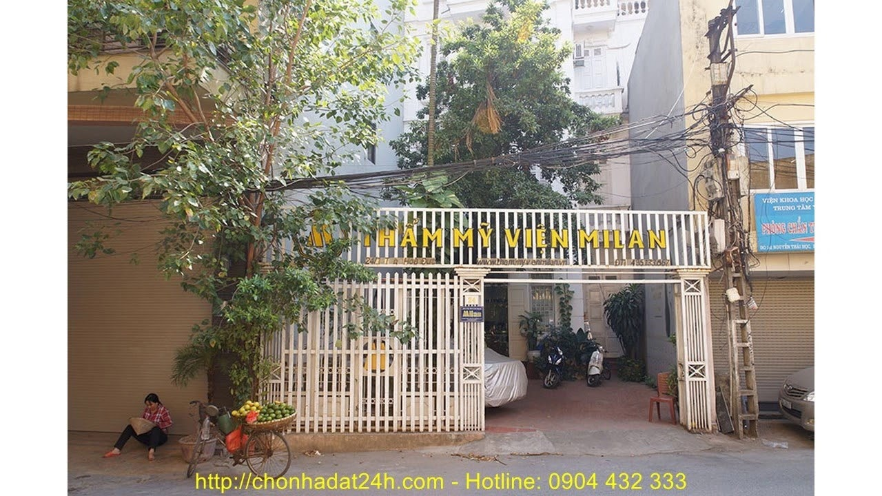 Bán nhà ở quận Đống Đa Hà Nội