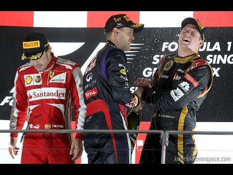 Vettel Impersonates Kimi Raikkonen in hilarious speech at the Autosport awards