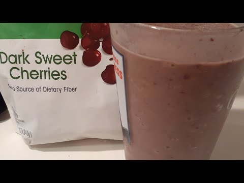 Chocolate Cherry Protein Shake