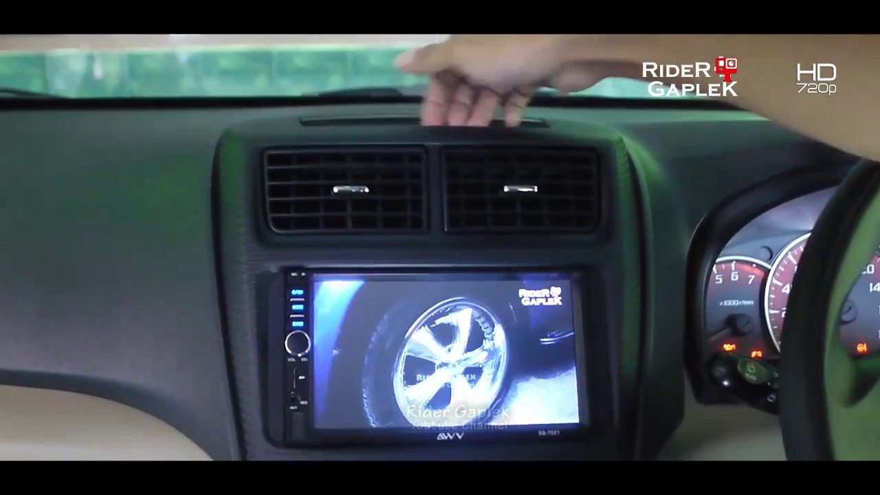 Double Din Grand New Veloz Aksesoris Avanza 2016 Cara Melepas Frame Head Unit All Xenia Dan Youtube