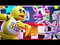 Chica vs Mangle | Minecraft Five Nights at Freddy's Roleplay