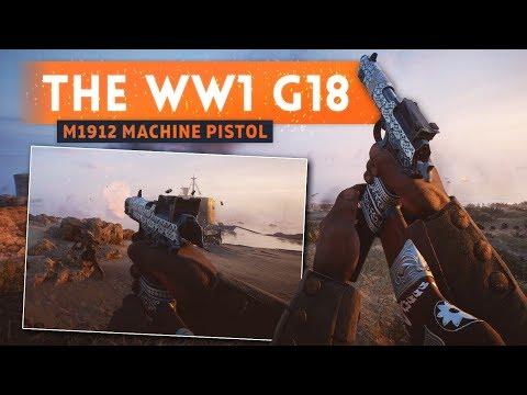 ► THE G18 OF WORLD WAR 1! - Battlefield 1 Turning Tides DLC (M1912 Steyr)
