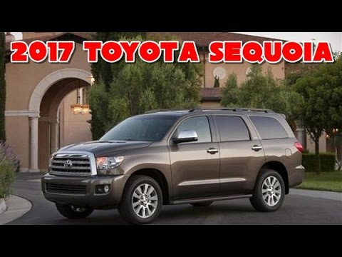 2017 toyota sequoia redesign interior and exterior youtube. Black Bedroom Furniture Sets. Home Design Ideas