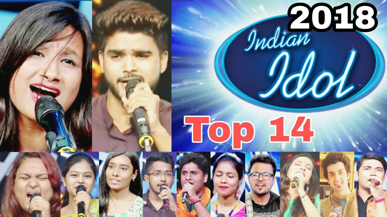 Indian Idol 2018 Top 14 Contestant Grand Premiere 2829 July