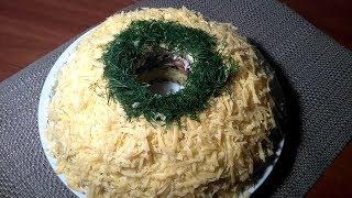 Салат слоеный на праздничный стол