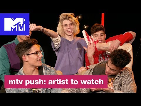PRETTYMUCH Talk Boyz II Men & Coming Together As A Group | MTV Push: Artist to Watch