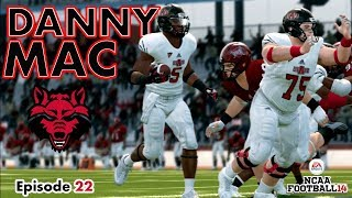 NCAA Football 14 Road To Glory- Running Back Danny Mac (Episode 22)