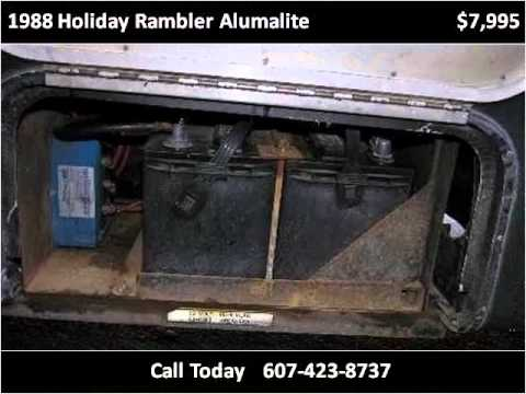 hqdefault 1988 holiday rambler alumalite used cars syracuse ny youtube 1988 holiday rambler imperial wiring diagram at bayanpartner.co