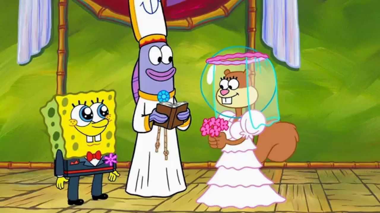Spongebob and sandy dating 5