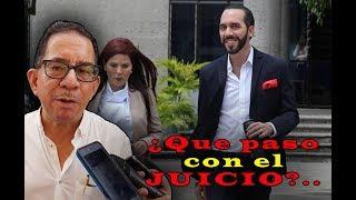 Que paso con el juicio Nayib Bukele Vs Eugenio Chicas