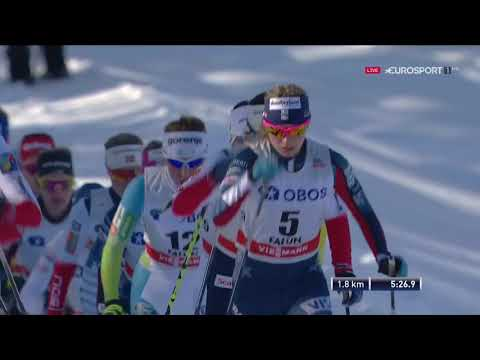 Falun Saturday - Ladies Mass Start