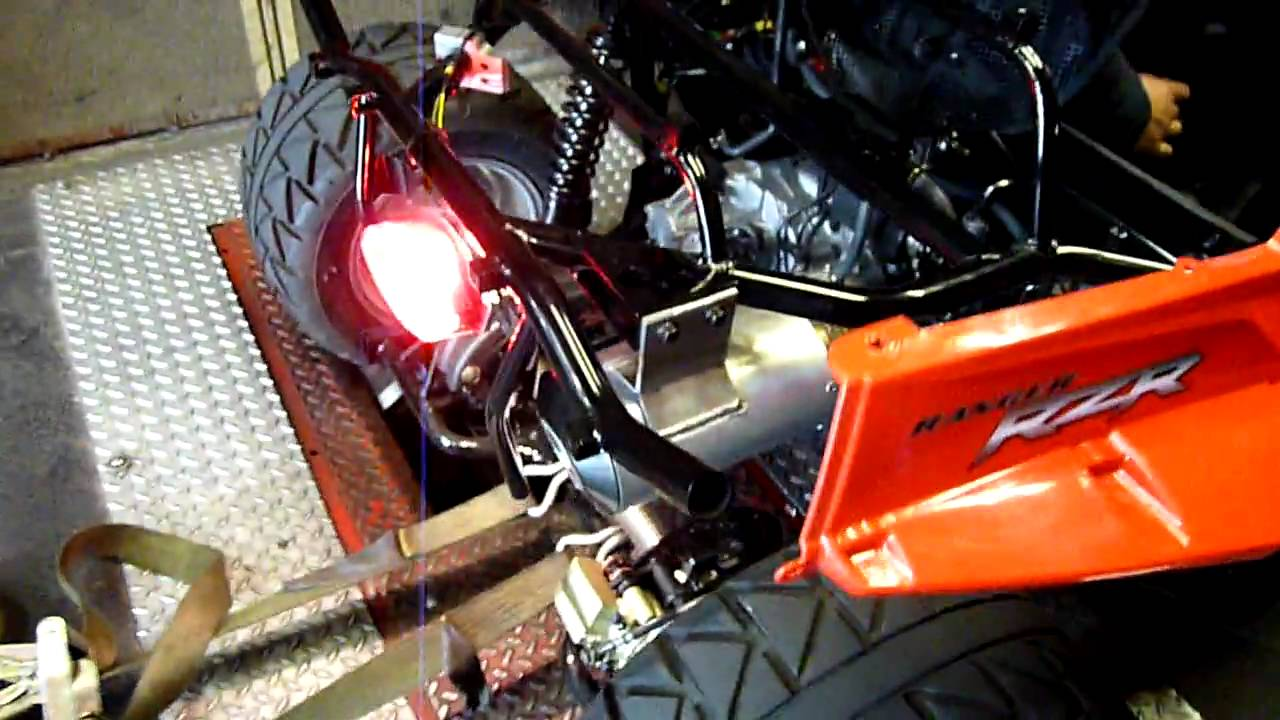 RZR 170 Dyno with Alba Pipe
