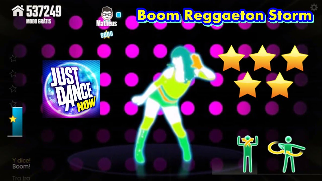 Boom reggaeton storm lyrics english translation