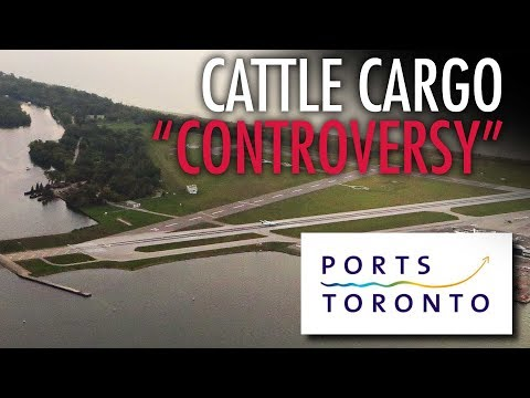 Ports Toronto COWtows to animal rights activist