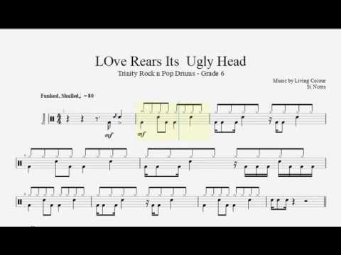 Download Love Rears Its Ugly Head - Living Colour - Trinity Rock & Pop Drums - Grade 6