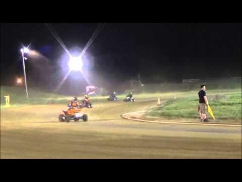 ATV Flat Track Racing Mid America Speedway 2015