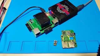 Восстановление данных с разбитого телефона. Recover data from broken phone