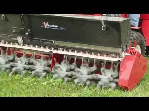 Ventrac Video - Aera-vator & Seedbox