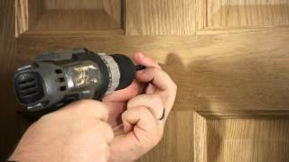 How To Install Coat Hooks On Doors : Door Installation & Repairs