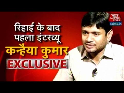 Exclusive Interview: With Kanhaiya Kumar After His Release Part 1