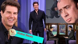 Tom Cruise shows face bad side on Tonight Show skit with Jimmy Fallon