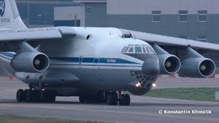 Ил-76 взлёт Внуково Октябрь 2015 IL-76 takeoff VKO Vnukovo October 2015 RA-78796(руление и взлёт 224-й лётный отряд RA-78796 taxi & takeoff 224th Flight Unit., 2016-04-29T15:06:51.000Z)
