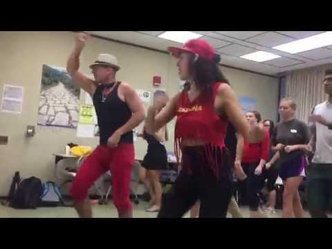Dance lesson with Jose Colina & Tere Suki at University of Hawai'i at Manoa
