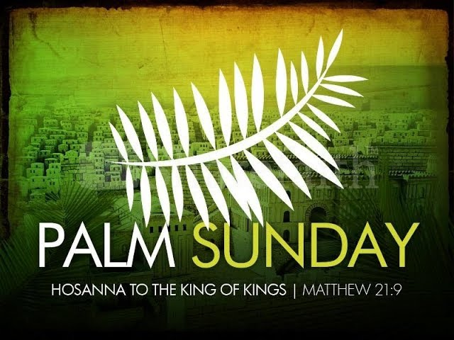 Palm Sunday 2019 Jay Fraze