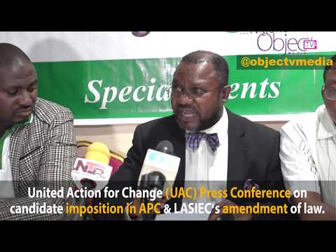 Amended LASIEC Law: UAC Slams Lagos Assembly, Sen. Afikuyomi, Mushin-APC Protesters