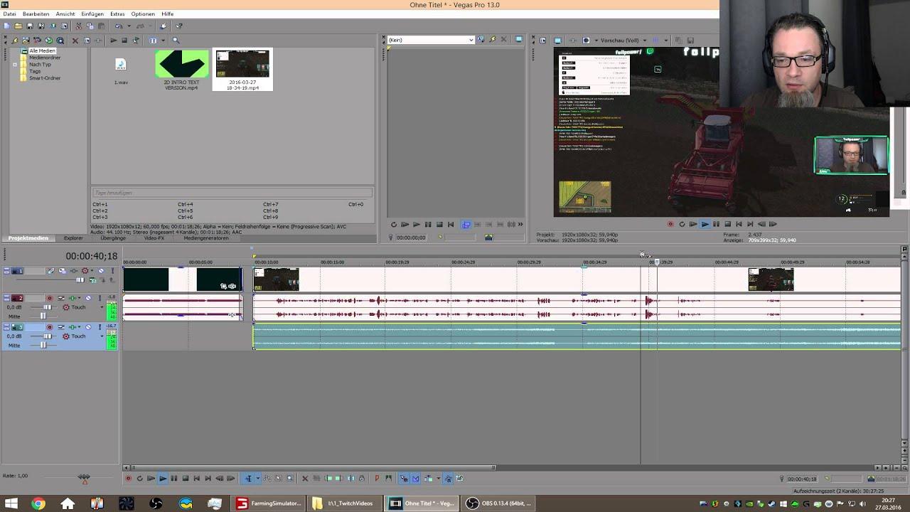 OBS Studio - Tutorial] 60 FPS Settings für Gameaufnahme und ...