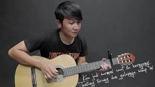 Gambar cover Virgoun Bukti   Nathan Fingerstyle  Guitar Cover PlanetLagu com
