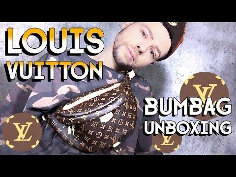 LOUIS VUITTON BUMBAG UNBOXING