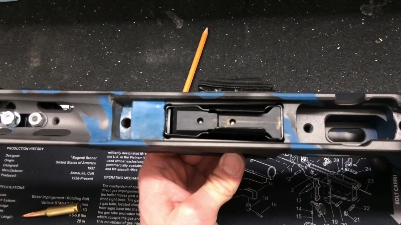 Howa 1500 MDT LSS XL Modification for AICS Mags and an updated chassis  review