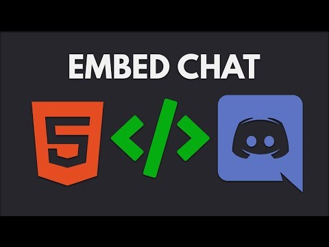 How To Embed Discord Chat Into A Website | Widgetbot.io