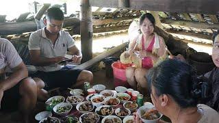 湖南农村喝喜酒就是爽,20多道硬菜随便吃,根本吃不完