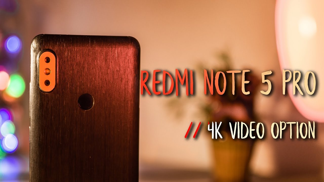 Redmi Note 5 Pro : How to Enable 4K video Recording option 🔥🔥