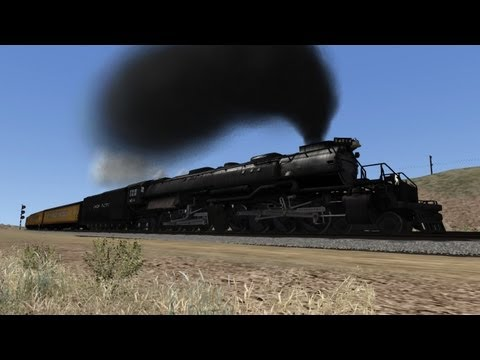 Train Simulator 2014 HD EXCLUSIVE: Union Pacific Big Boy 4014 Excursion Over Sherman Hill