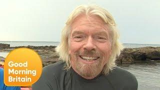 Richard Branson on Chris Evans Leaving the BBC to Join Virgin Radio | Good Morning Britain