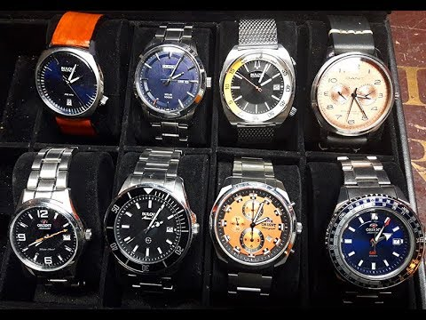 PAID WATCH REVIEWS - 3 Orients, 3 Bulovas, and a Seiko = GARBAGE